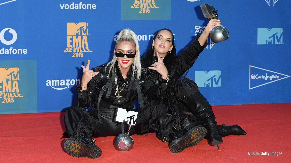 Juju & Loredana räumen bei EMAs Preise ab