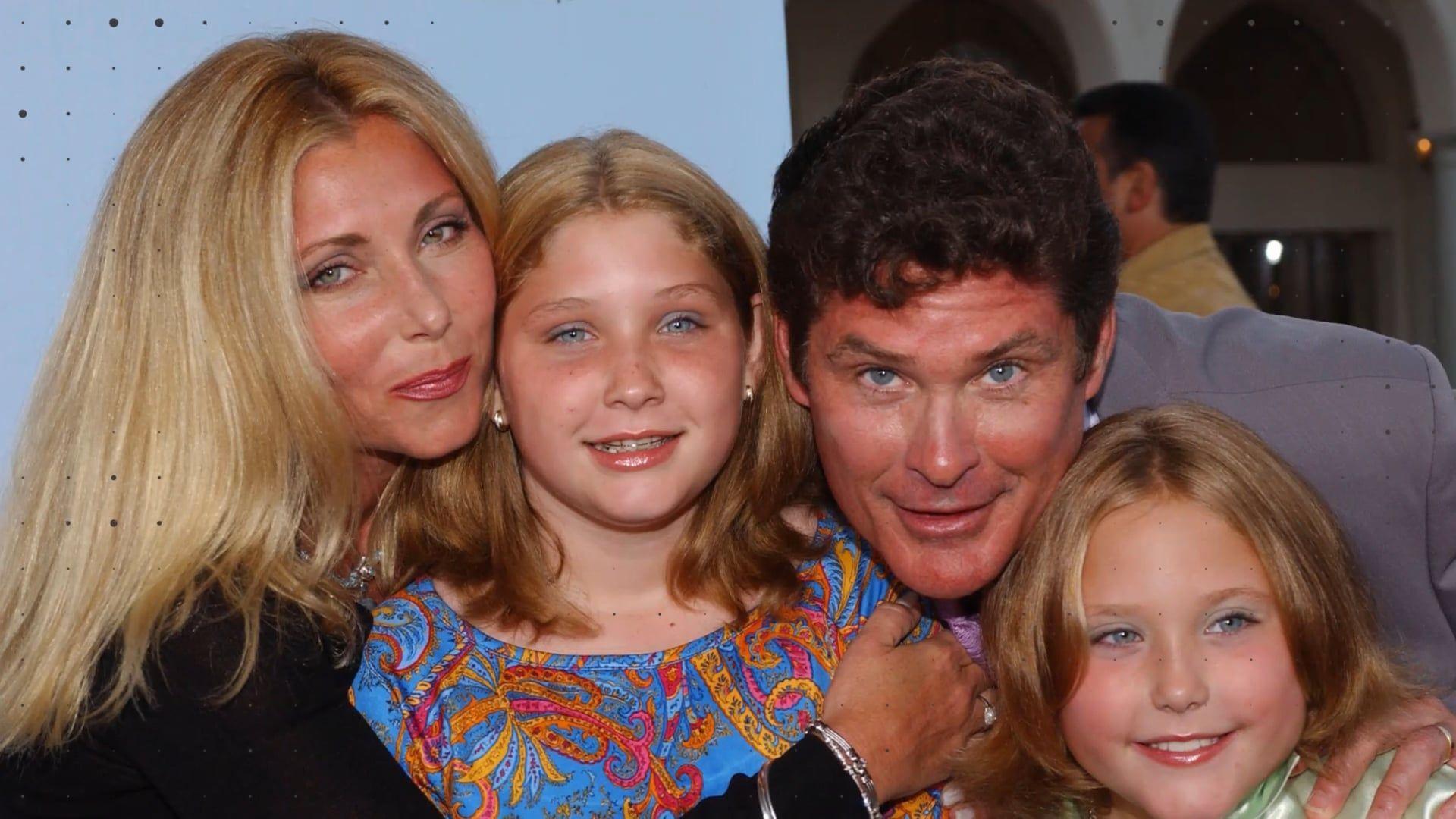 """""""Baywatch""""-Star David Hasselhoff: Das sind seine hübschen Töchter"""