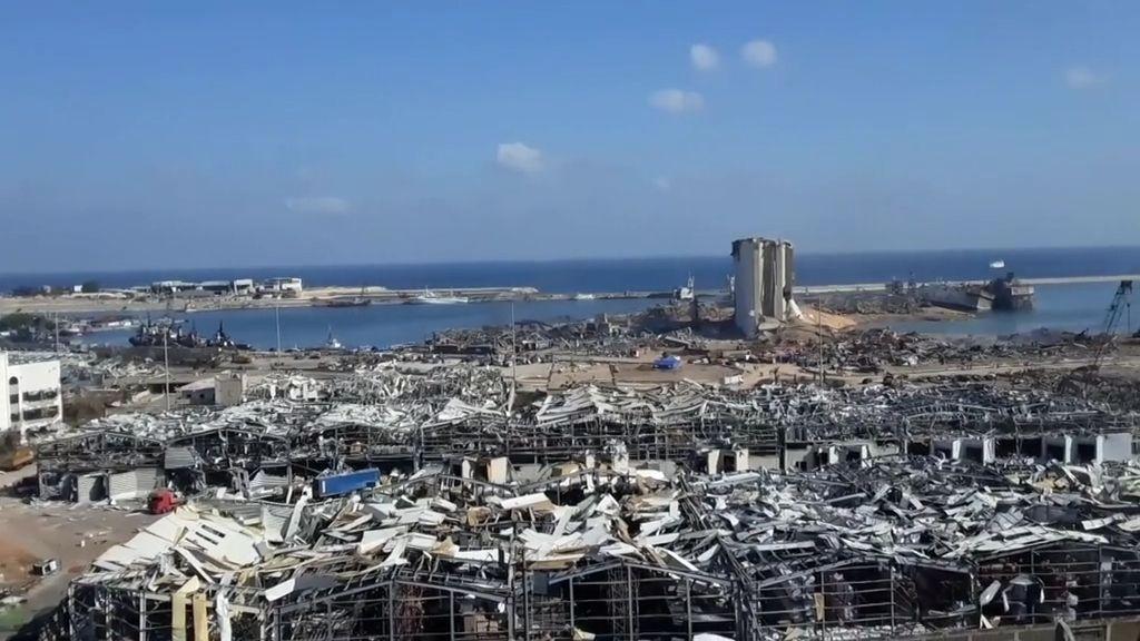 Explosion in Beirut: 16 Hafenmitarbeiter festgenommen