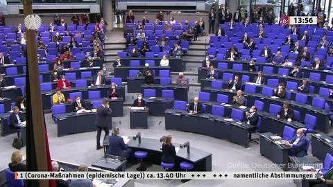 Bundestag beschließt Änderungen am Infektionsschutzgesetz