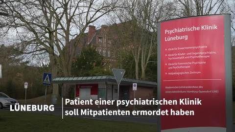 Tötungsdelikt in psychiatrischer Klinik in Lüneburg