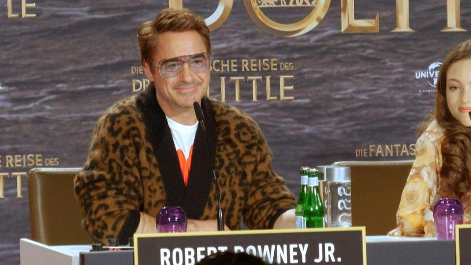 Tierischer Spaß mit Robert Downey Jr. in Berlin zur Dolittle-Premiere