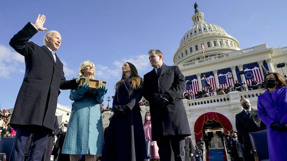 Neuer US-Präsident Joe Biden ruft zur Versöhnung auf