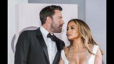 Ben Affleck protects girlfriend Jennifer Lopez from fan