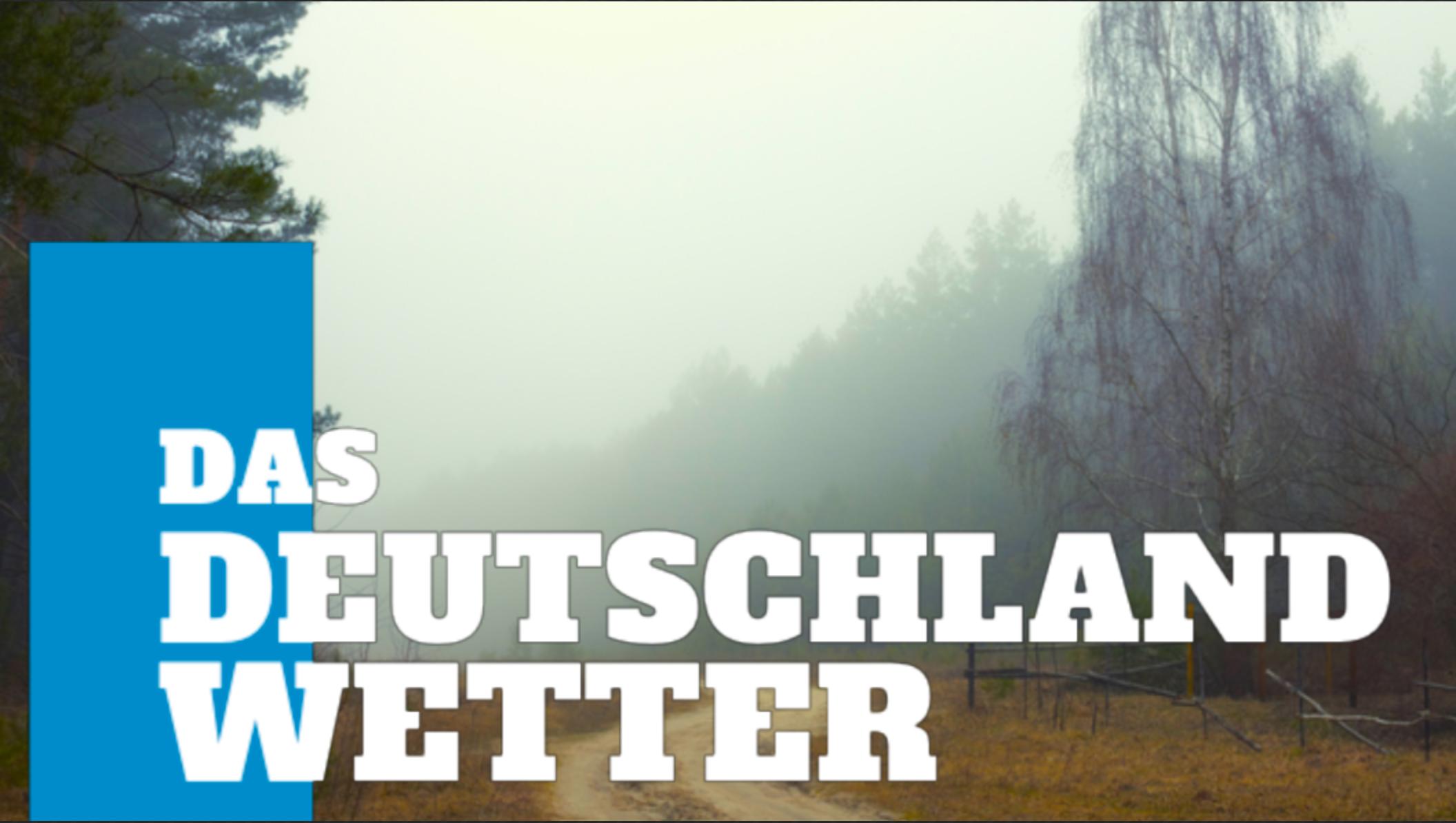 Deutschland-Wetter: 5-Tage-Trend-Aktuell – Milder zum Monatsende