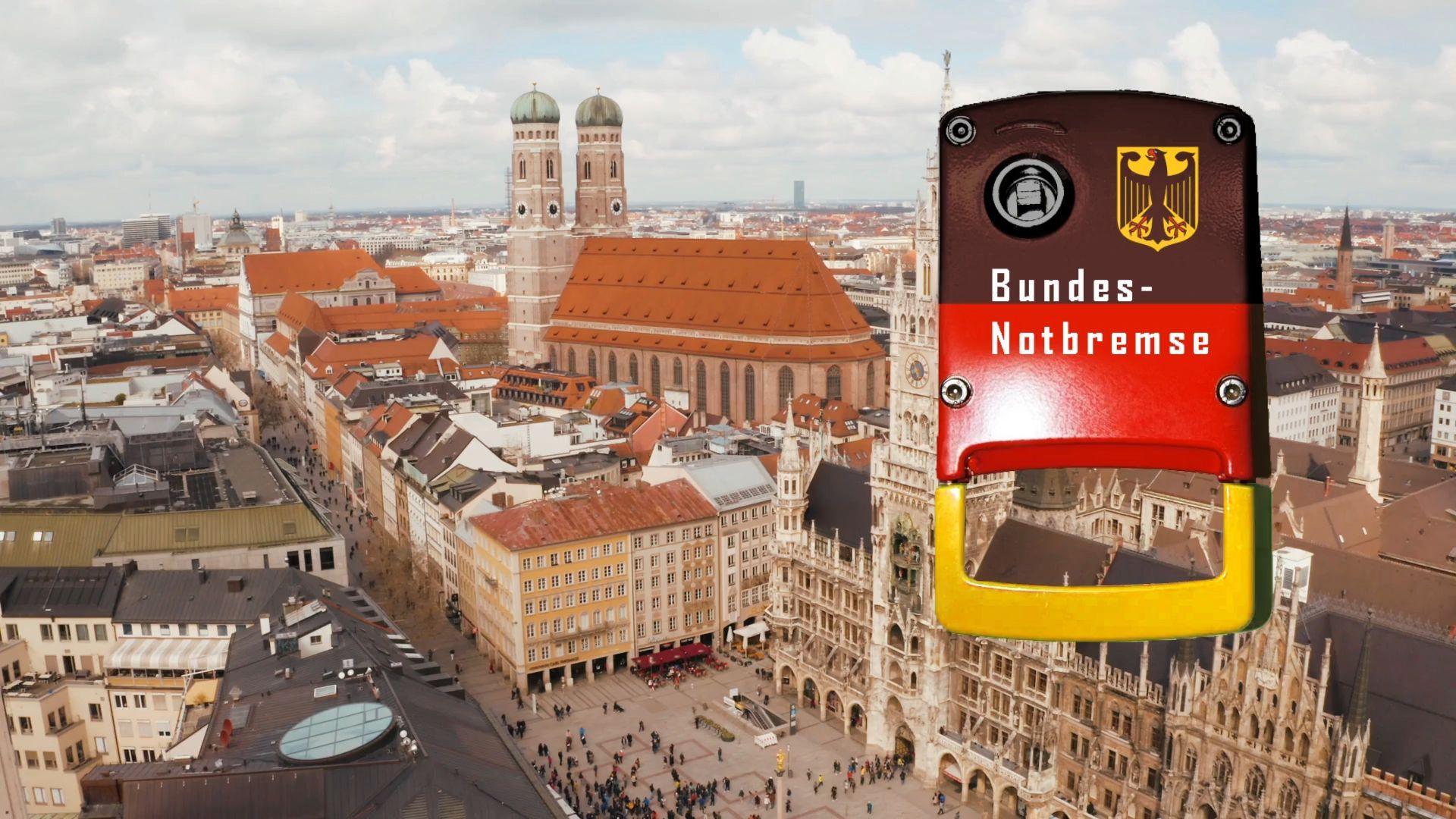 Bayern weicht von Bundes-Notbremse ab und verschärft Corona-Regel