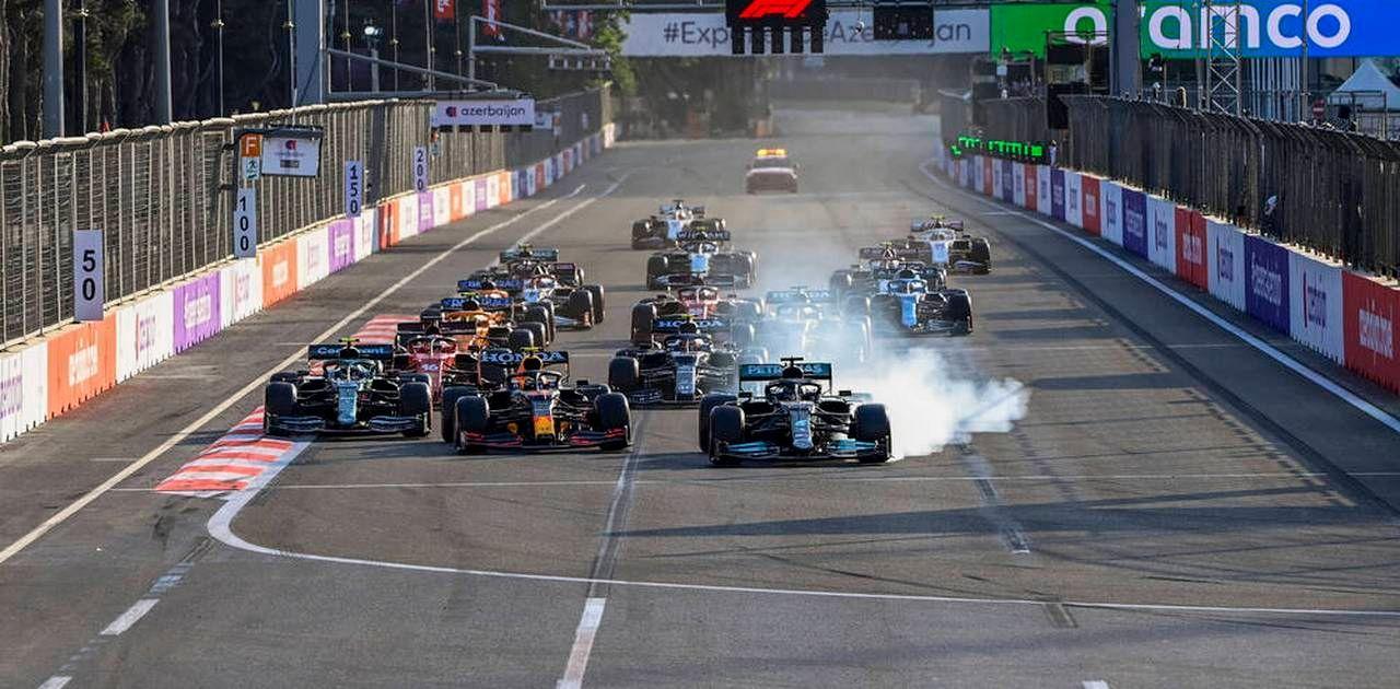 Formel 1: Drama um Verstappen und Hamilton – Vettel Zweiter in Baku-GP