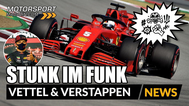 Formel 1: Stunk im Funk: Vettel & Verstappen toben!