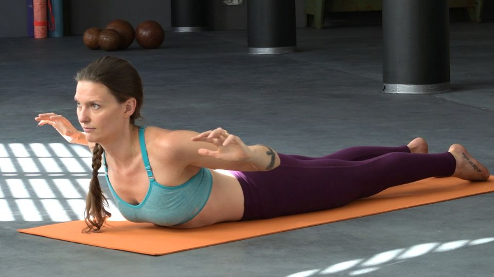 Yoga Workout im Video: Rückbeugen Herzöffner