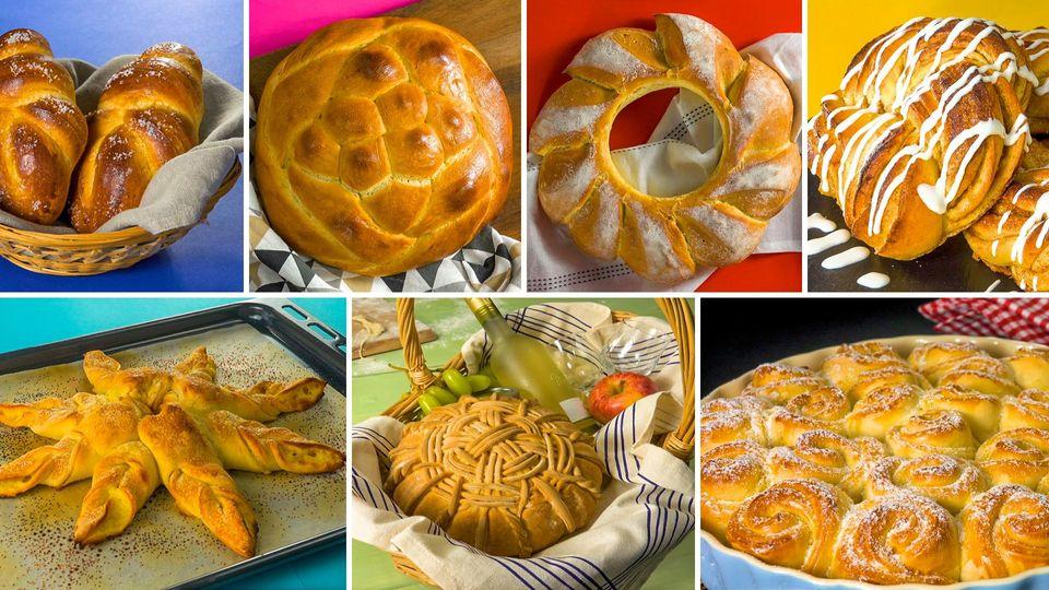 Brot backen: Diese 7 Rezepte zeigen, was man mit Teig so machen kann