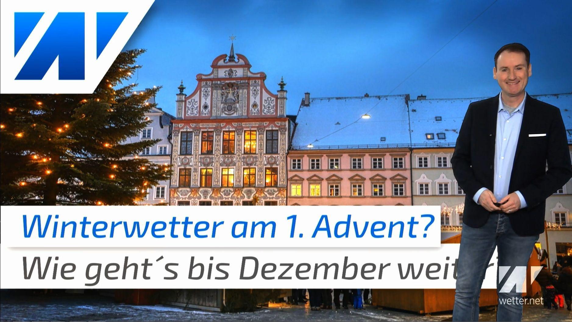 Wetterexperte verrät: So wird das Wetter am 1. Advent!