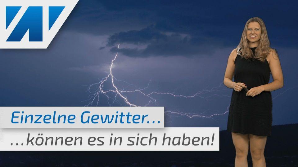 Unwetterwarnung! Hagel, Starkregen, Sturmböen. Überflutungsgefahr!
