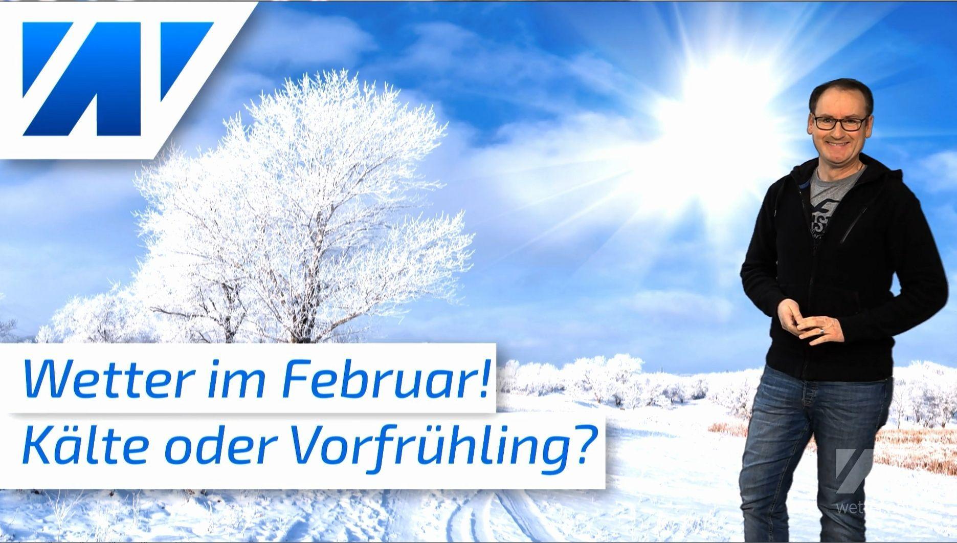 Das Winterwetter im Februar: Vorfrühling oder eisige Kälte?