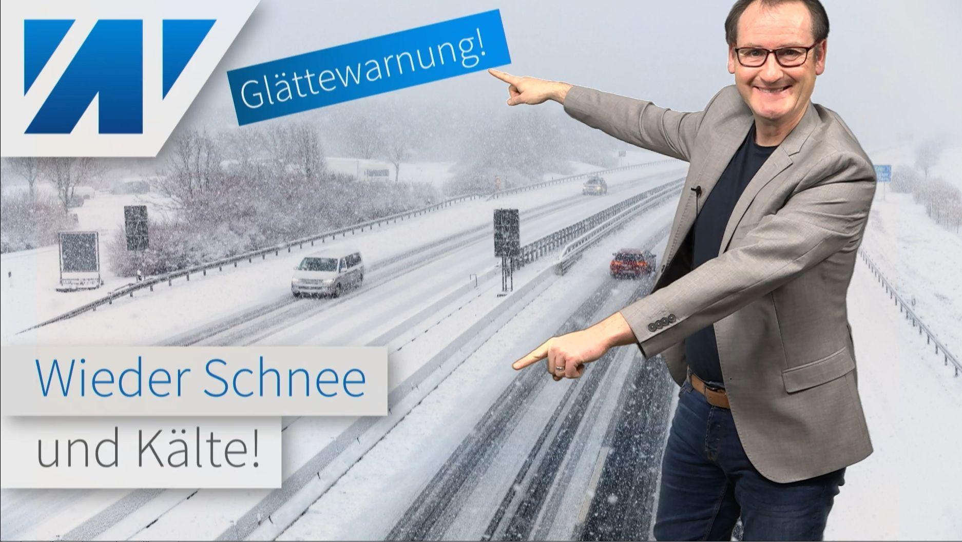 Schockkarten für alle Frühlingsfans! Nächste Woche Winterwetter mit Schnee und Frost!