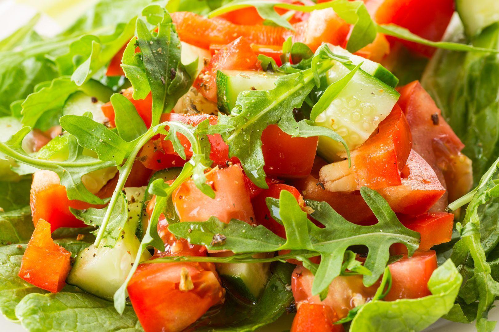 Orientalischer Eisberg-Rucola-Salat - Rosins Restaurant