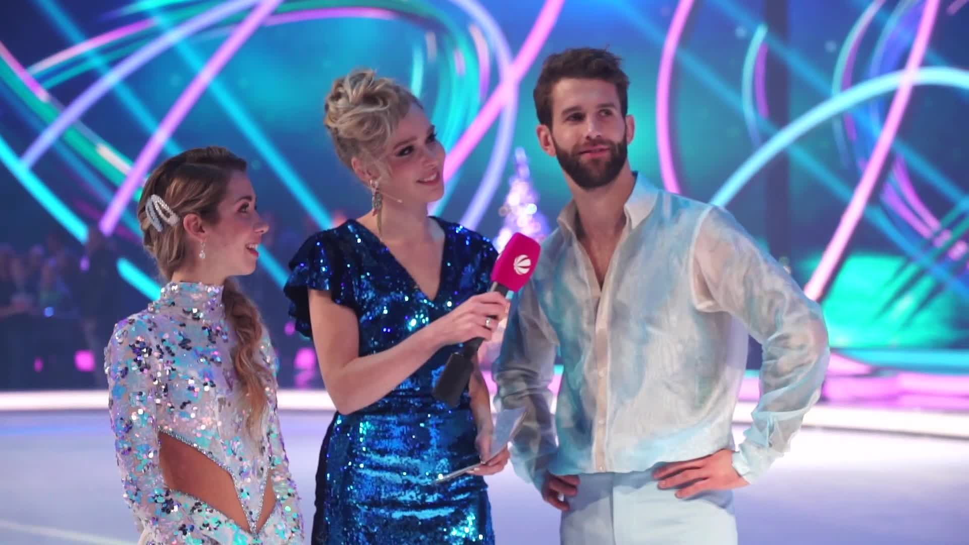 Dancing on Ice - Emotionaler Abschied von Nadine & André