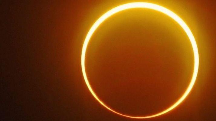 Sonnenfinsternis: Letzter Feuerring des Jahrzehnts zu sehen