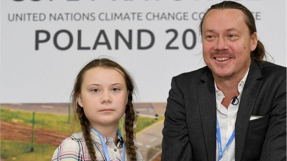Wollte nicht das Klima retten: Svante Thunberg über Tochter Greta