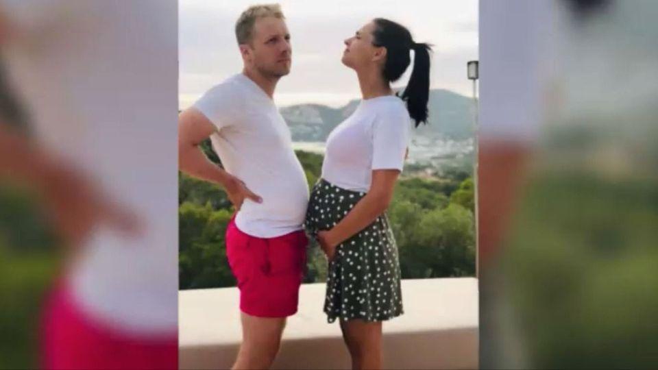 Ansage im TV: Amira und Oliver Pocher erwarten Nachwuchs
