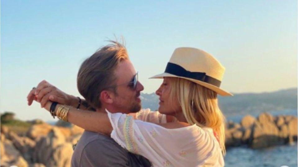 Romantisch: Sarah Connor postet Liebes-Selfie