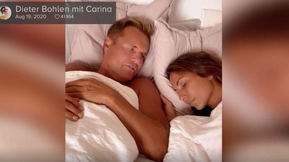 Was bei Dieter Bohlen und Carina im Bett abgeht