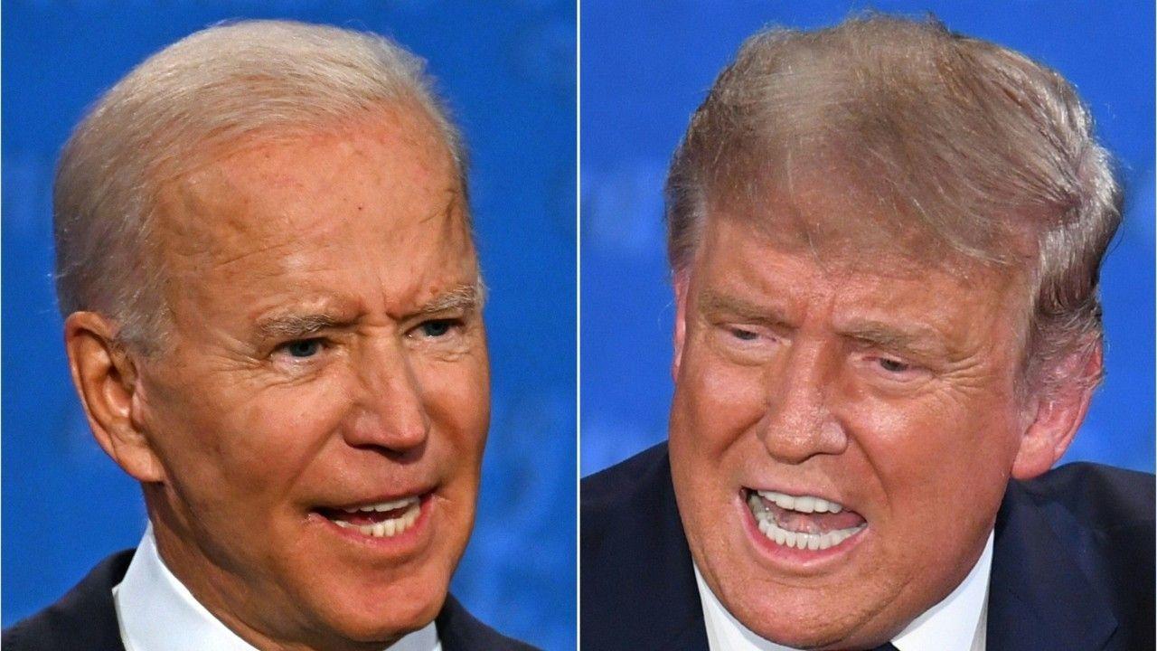 """""""Halt die Klappe"""": So heftig war das TV-Duell zwischen Trump und Biden"""