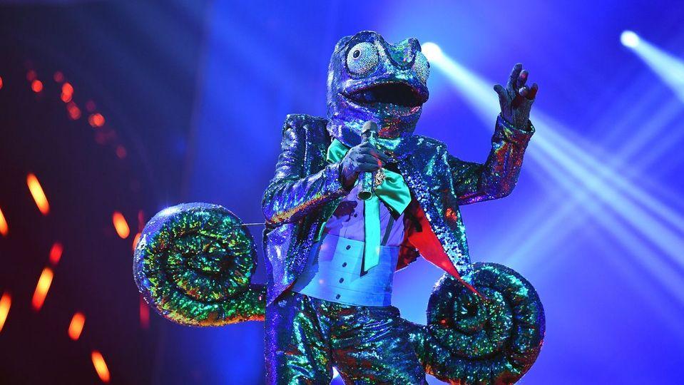 The Masked Singer - Das Chamäleon singt 'Bella Ciao'