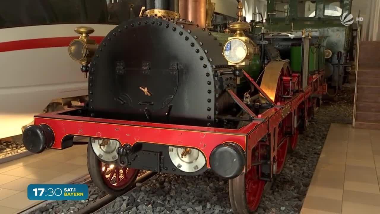 Da schau her – Mehr Wissen über Bayern: Die erste Dampflok in Deutschland