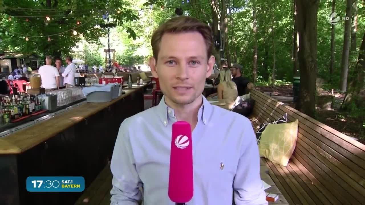 EM-Auftaktspiel: Volle Biergärten in München