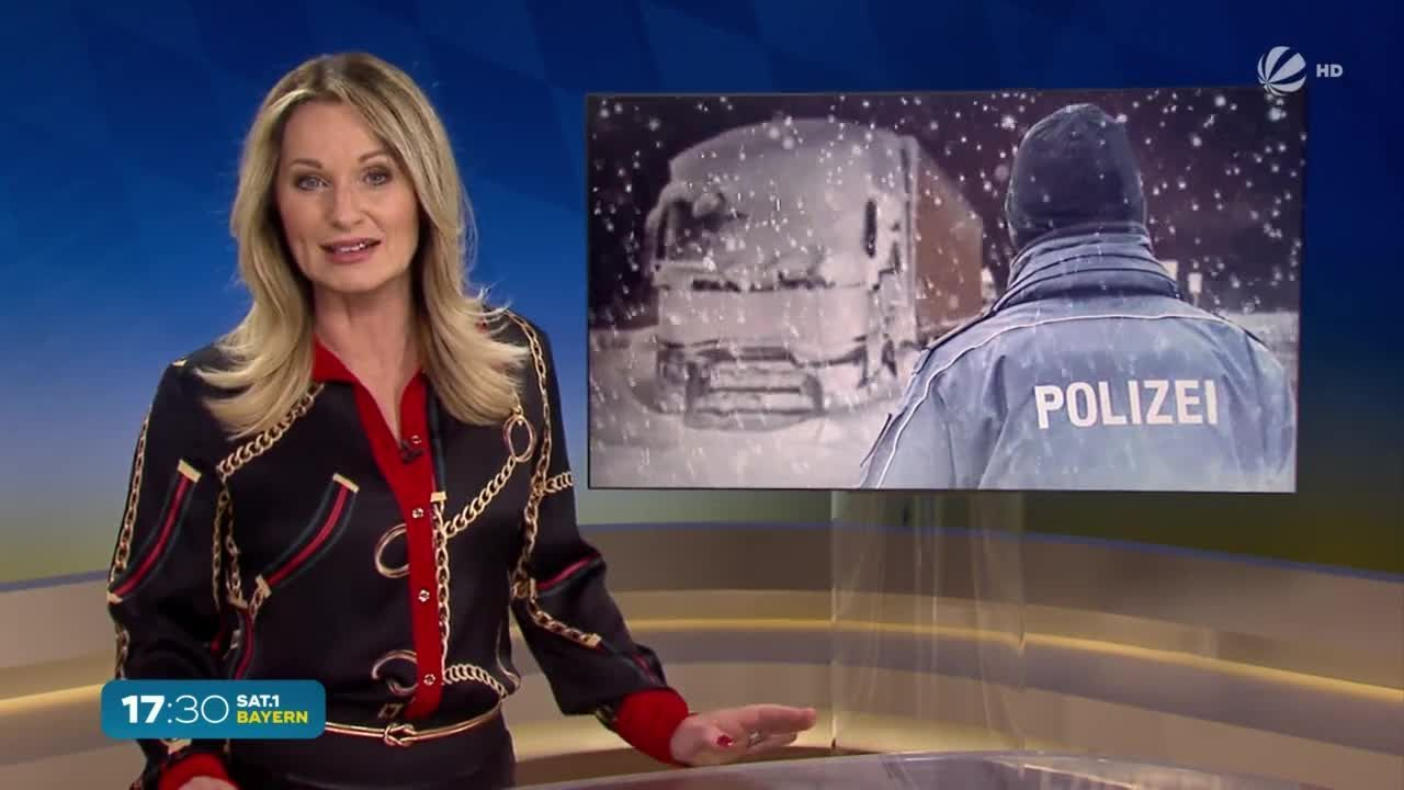 Unfall-Flucht in Hof: Schnee entlarvt Täter
