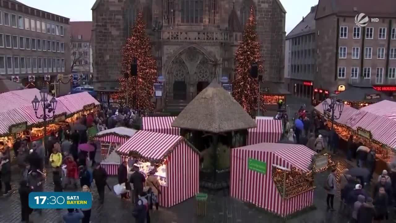 Christkindlmärkte in Bayern: 3G-Regel und Maskenpflicht fällt